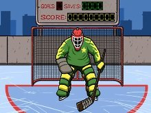 Игра Hockey suburban goalie