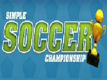 Игра Simple Soccer Championship