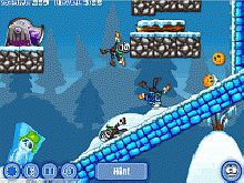 Игра Zombie Launcher Winter Season