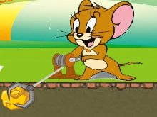 Игра Tom and Jerry Gold Miner