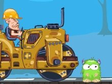 Игра Roll The Monster