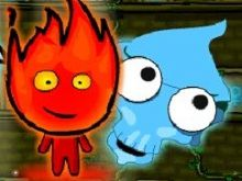 Игра Angry Ice Girl and Fire Boy