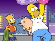Игра The Simpsons