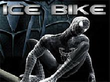 Игра Spiderman Ice Bike