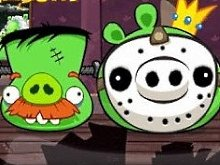 Игра Angry Birds 2013 Haunted Hogs HD